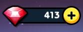 ラインレンジャー ルビー 413個