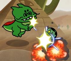 ラインレンジャー ソルは複数の敵をいっぺんに攻撃できる